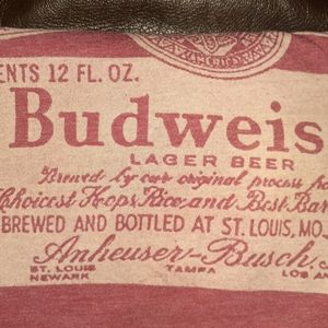 Vintage Budweiser tshirt